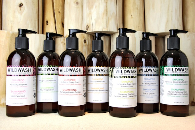 WildWash natural gentle dog and cat shampoo