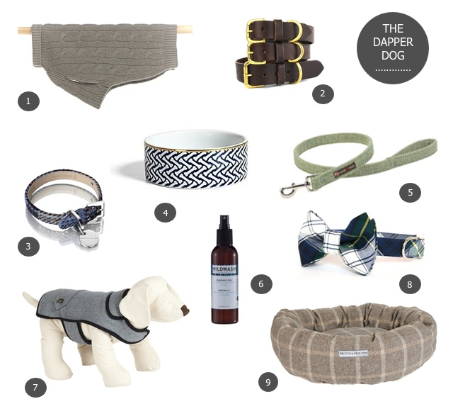 Dog Gift Guide including designer dog products from StyleTails, Mungo & Maud, C.Wonder, LoveMyDog, Mutts & Hounds, Bone & Rag