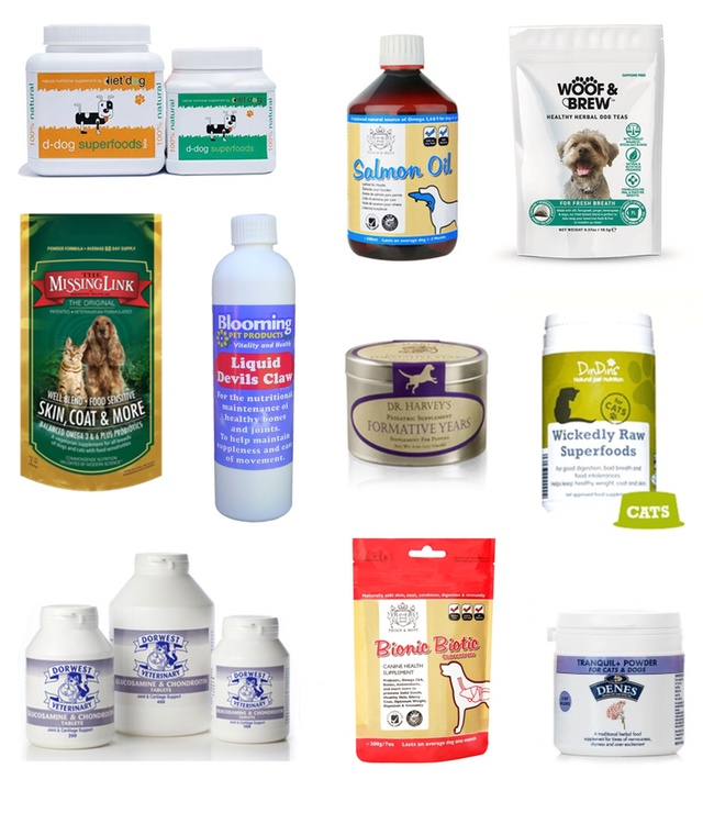 Best natural health supplements for dogs and cats
