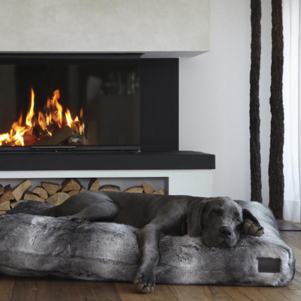 Felpa Faux Fur Dog Bed Miacara