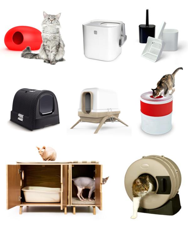 stylish designer cat litter boxes