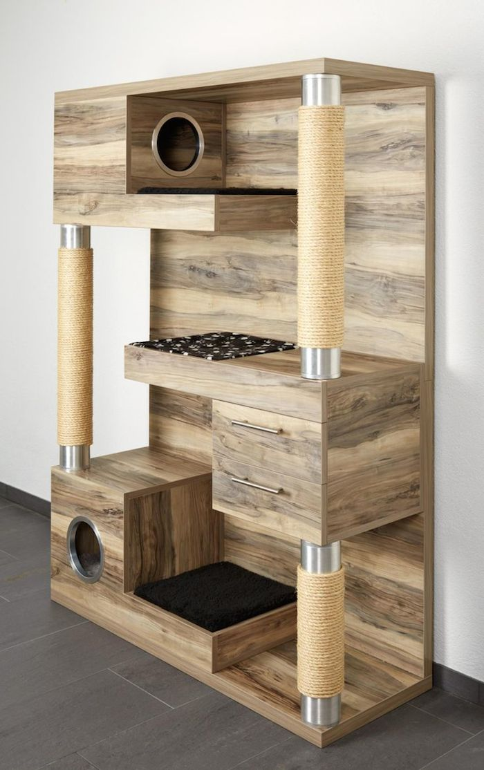 Cool Custom Made Cat Towers By Catframe