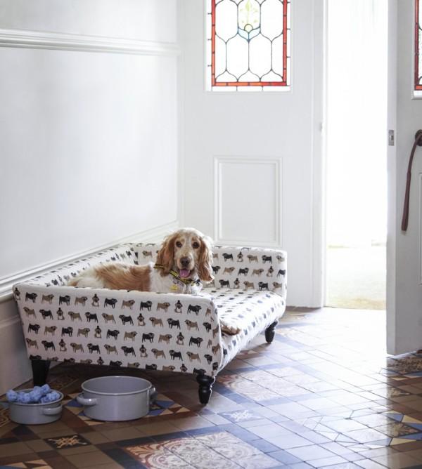 Cecil Dog Sofa Fenella Print Dogs Trust Sofa.com