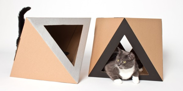 catchitecture_cardboard_cat house octocat