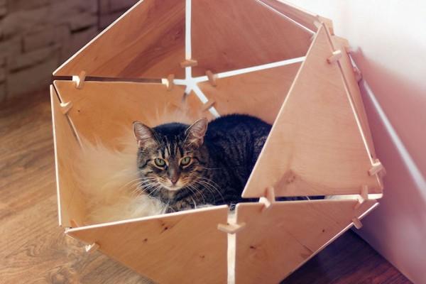 Catissa Geobed Cat Cave