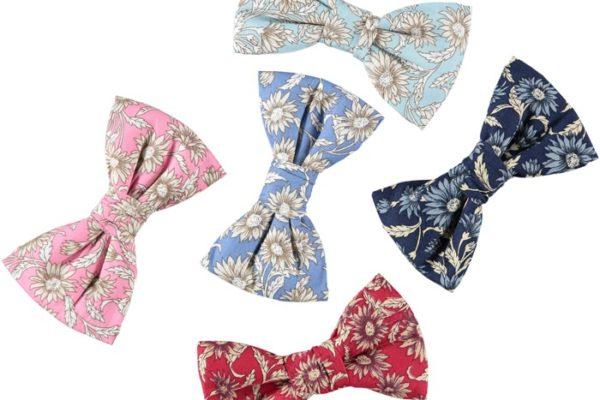 daisy print dog bow ties baker and bray