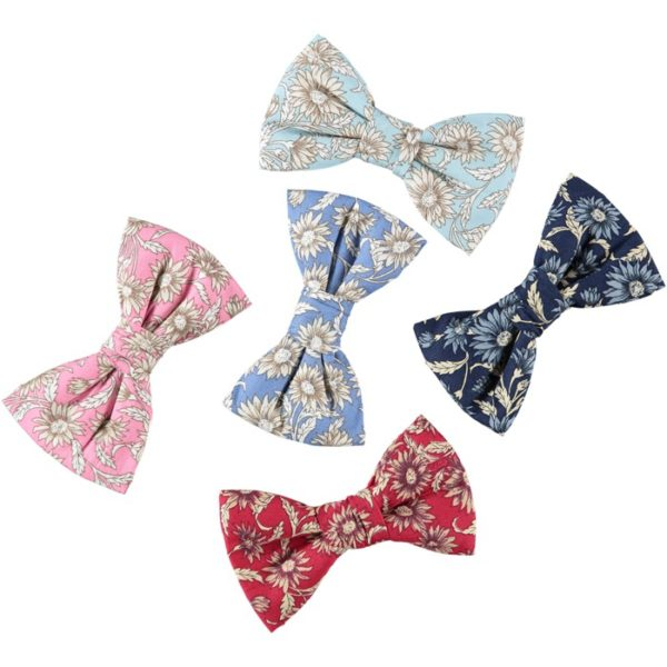 daisy print dog bow ties baker and bray