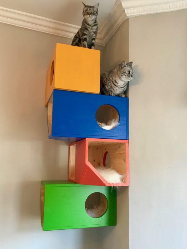 Catissa Modular Cat Tower StyleTails