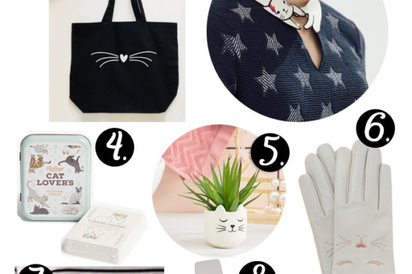 Chic cat lover Christmas gift guide