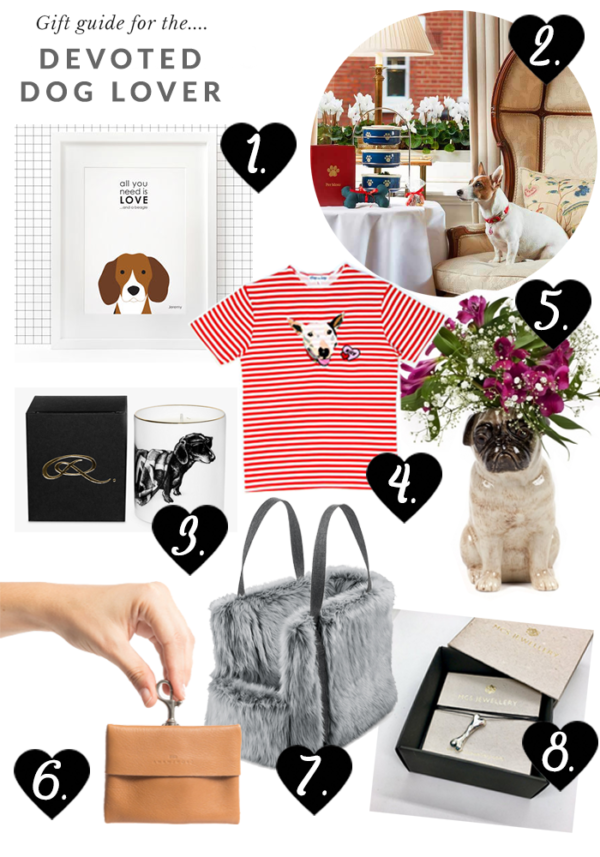 Devoted dog lover gift guide Valentine's Day